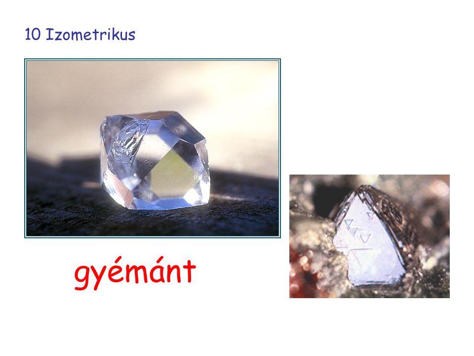 10 Izometrikus gyémánt