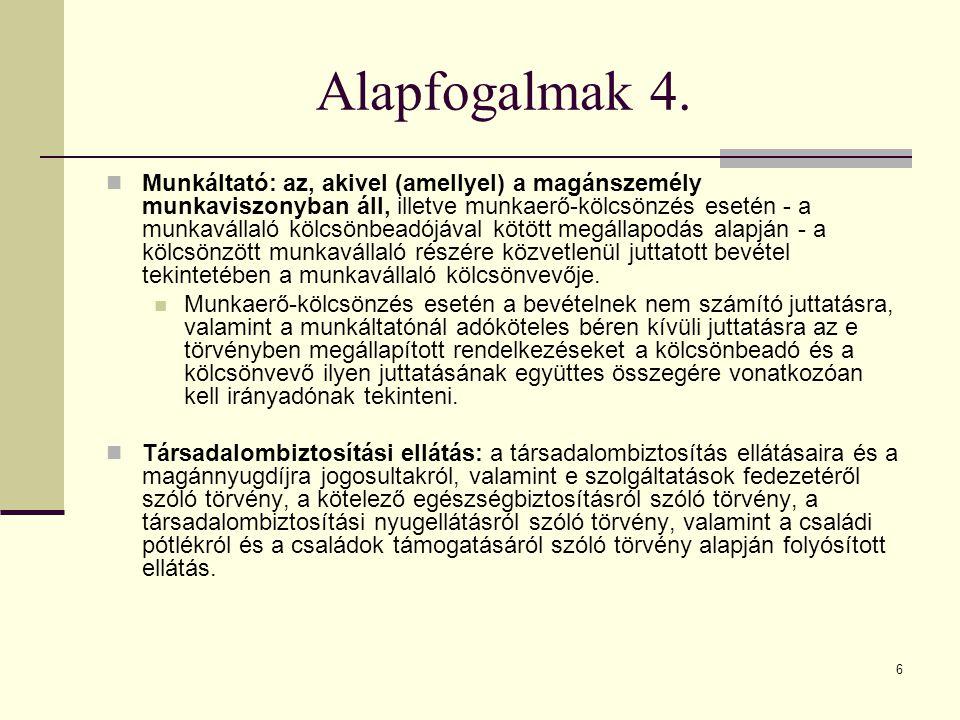 Alapfogalmak 4.