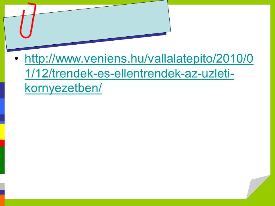 http://www.veniens.hu/vallalatepito/2010/01/12/trendek-es-ellentrendek-az-uzleti-kornyezetben/