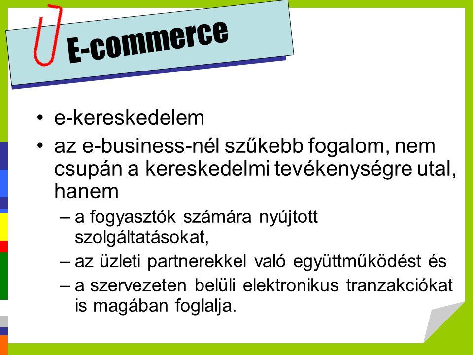 E-commerce e-kereskedelem
