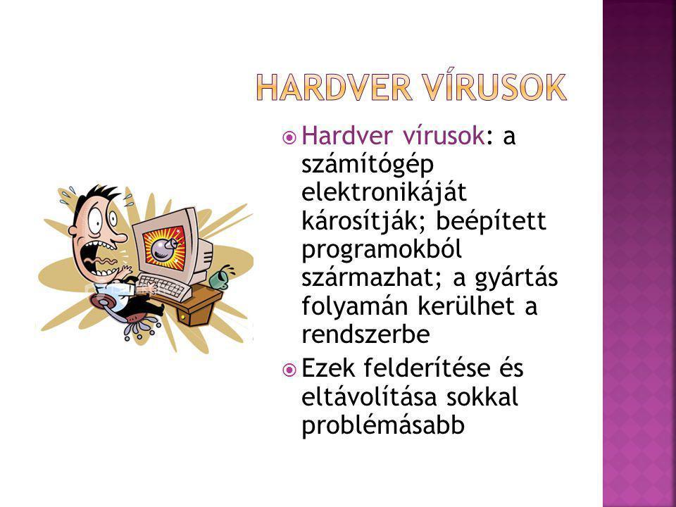 Hardver vírusok