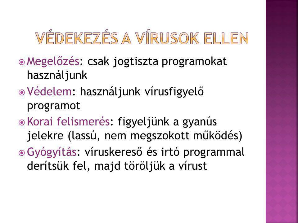 Védekezés a vírusok ellen