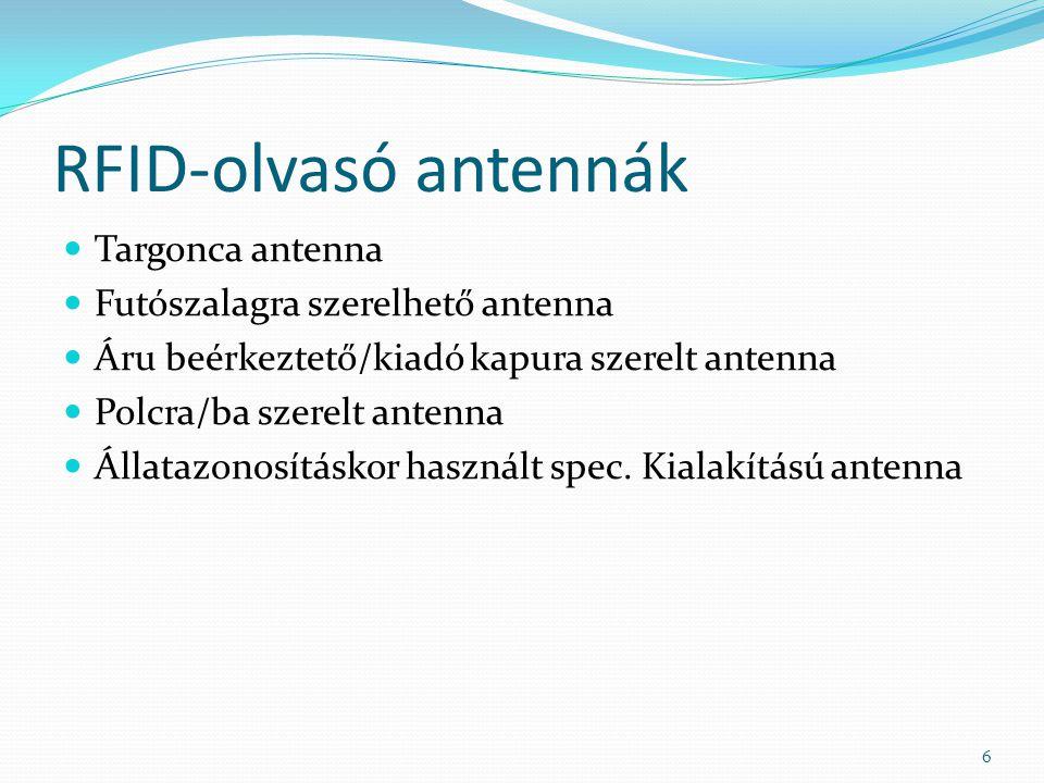RFID-olvasó antennák Targonca antenna Futószalagra szerelhető antenna