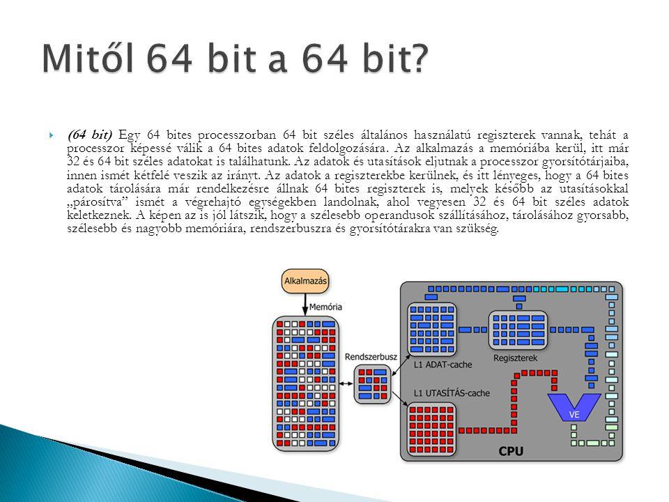 Mitől 64 bit a 64 bit