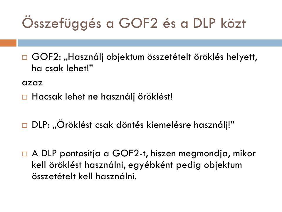 Összefüggés a GOF2 és a DLP közt