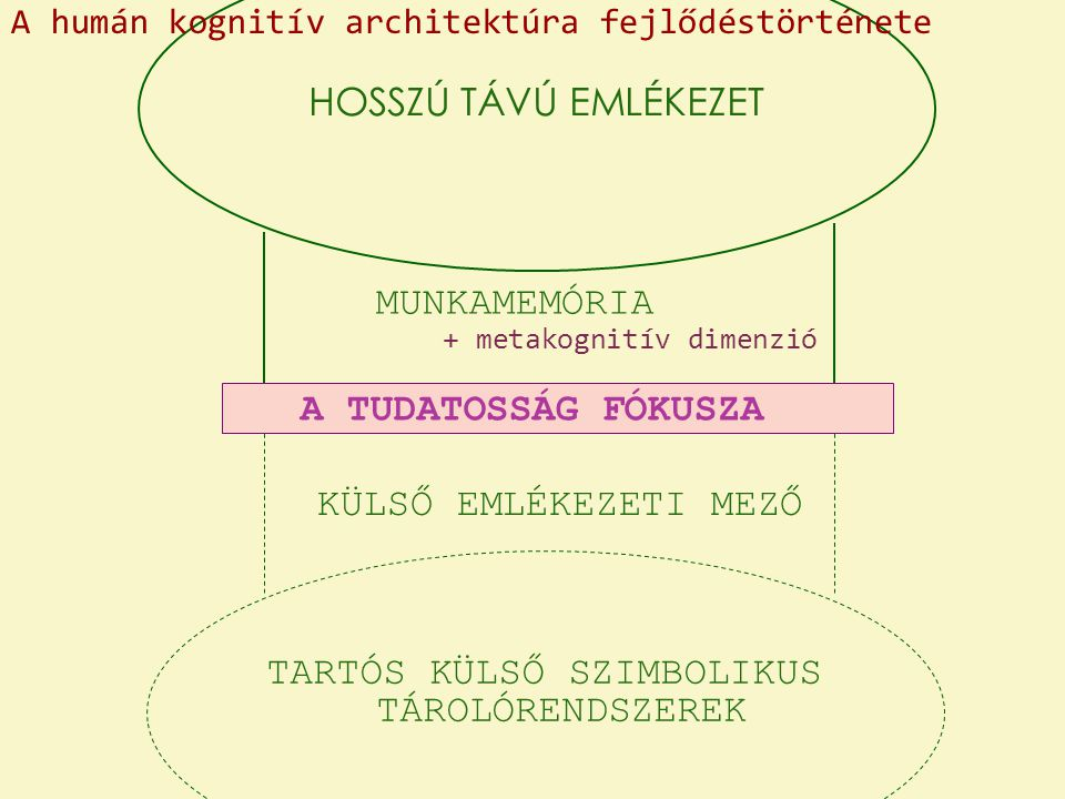 TARTÓS KÜLSŐ SZIMBOLIKUS TÁROLÓRENDSZEREK