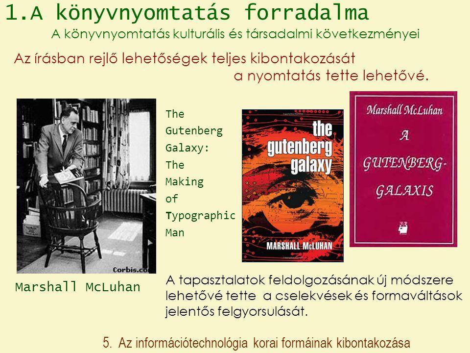 1.A könyvnyomtatás forradalma