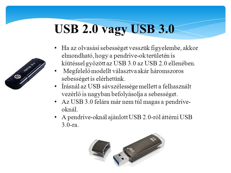 USB 2.0 vagy USB 3.0
