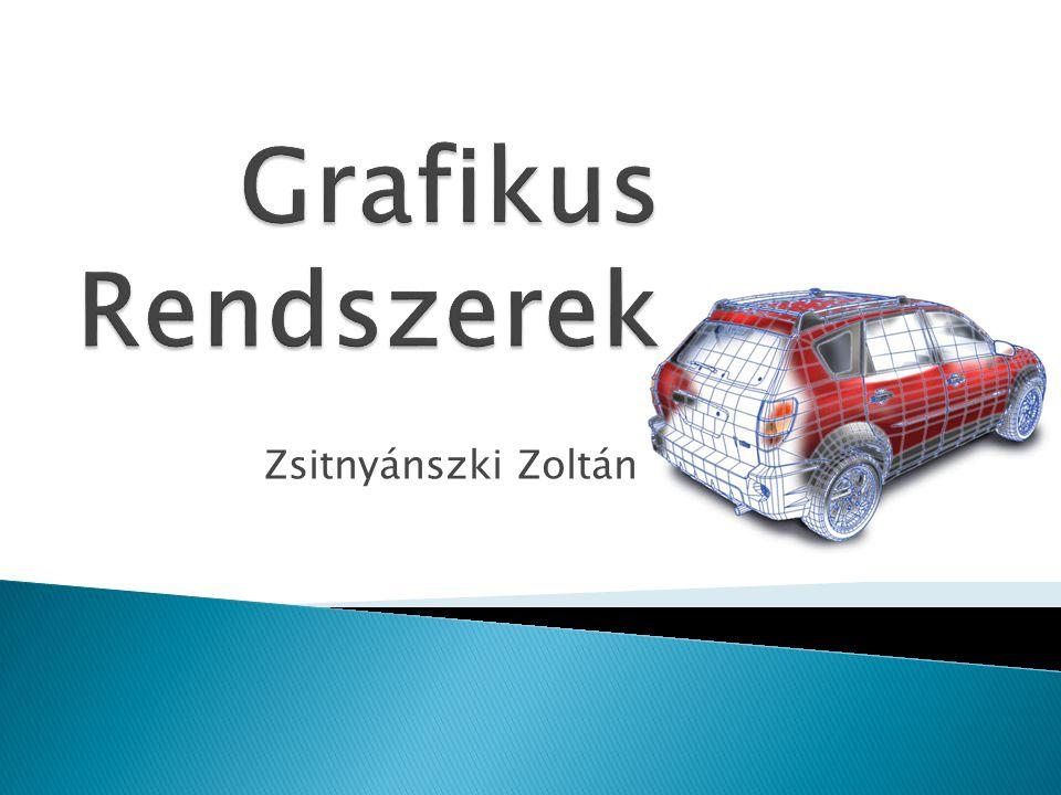Grafikus Rendszerek Zsitnyánszki Zoltán