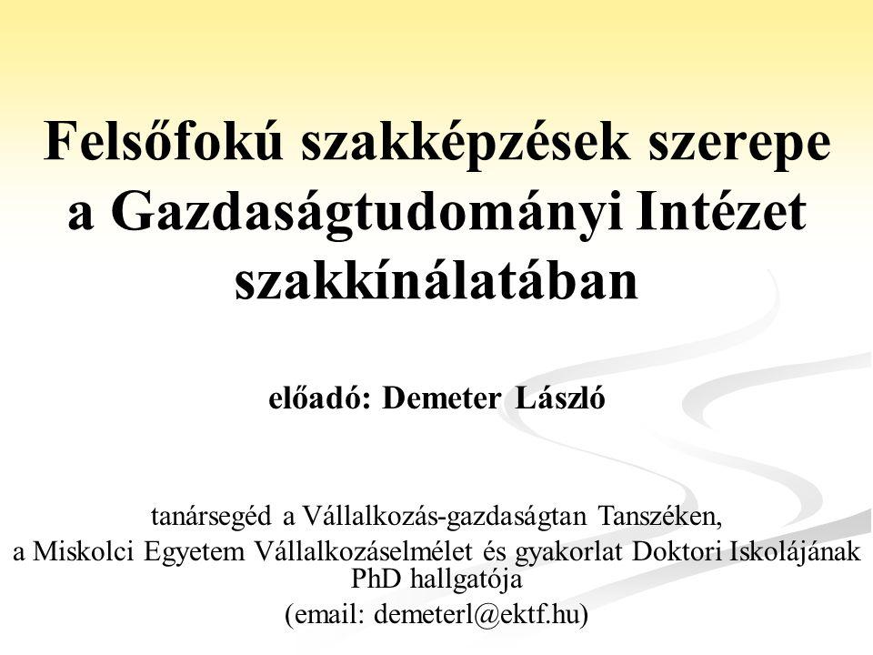 előadó: Demeter László