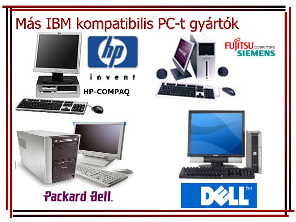 Más IBM kompatibilis PC-t gyártók