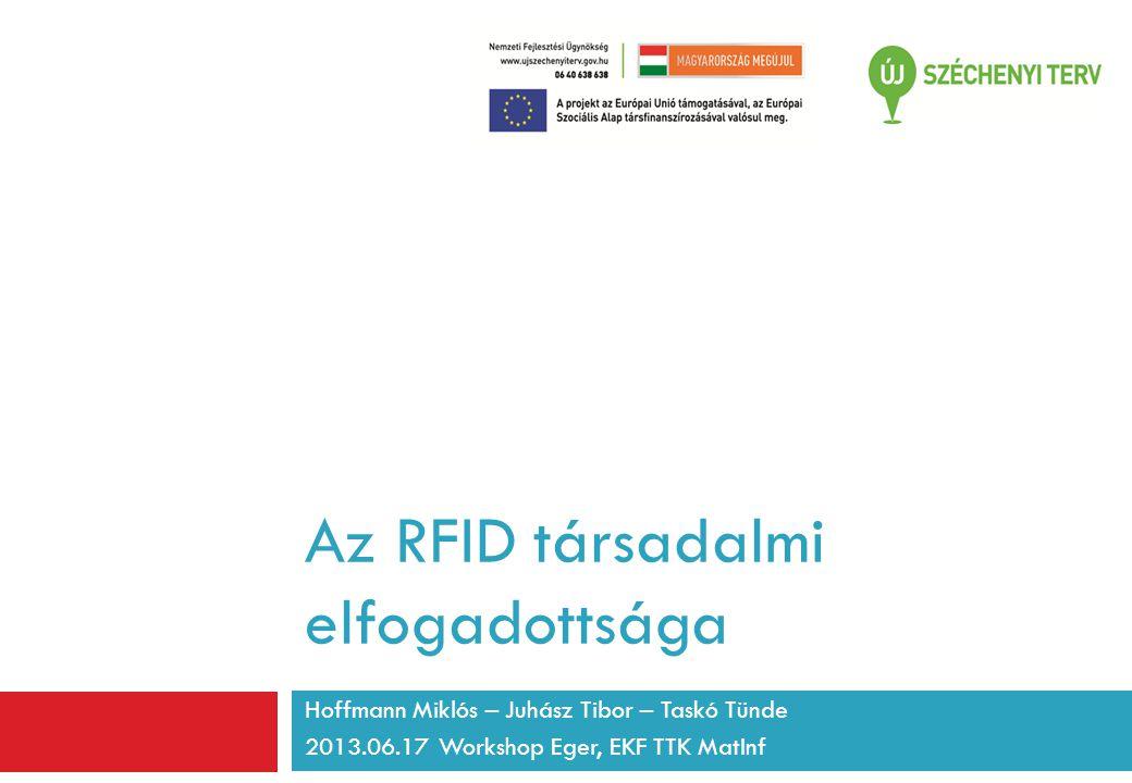 Az RFID társadalmi elfogadottsága