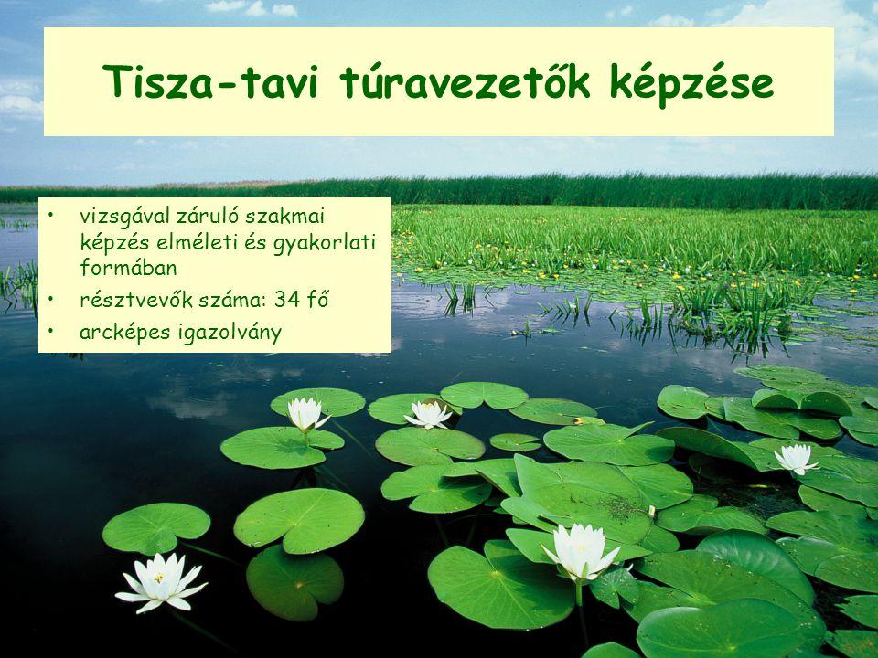 Tisza-tavi túravezetők képzése