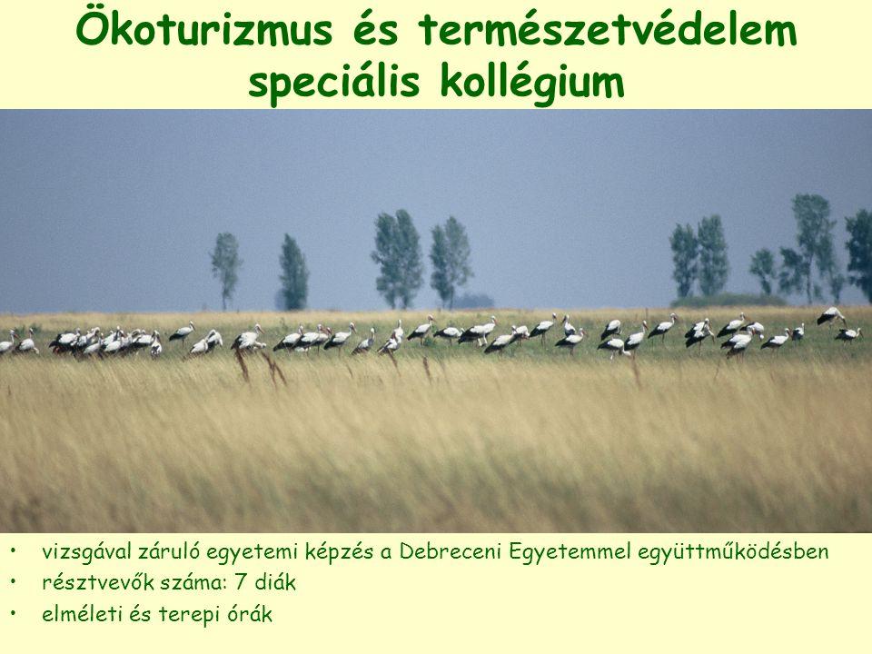 Ökoturizmus és természetvédelem speciális kollégium