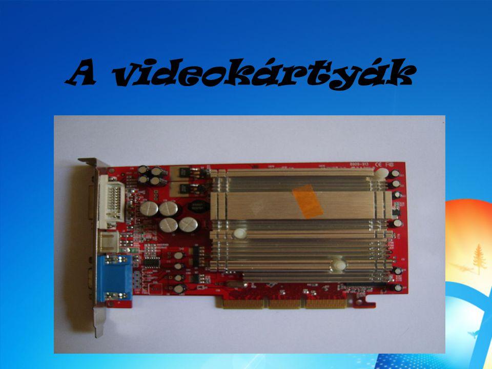 A videokártyák