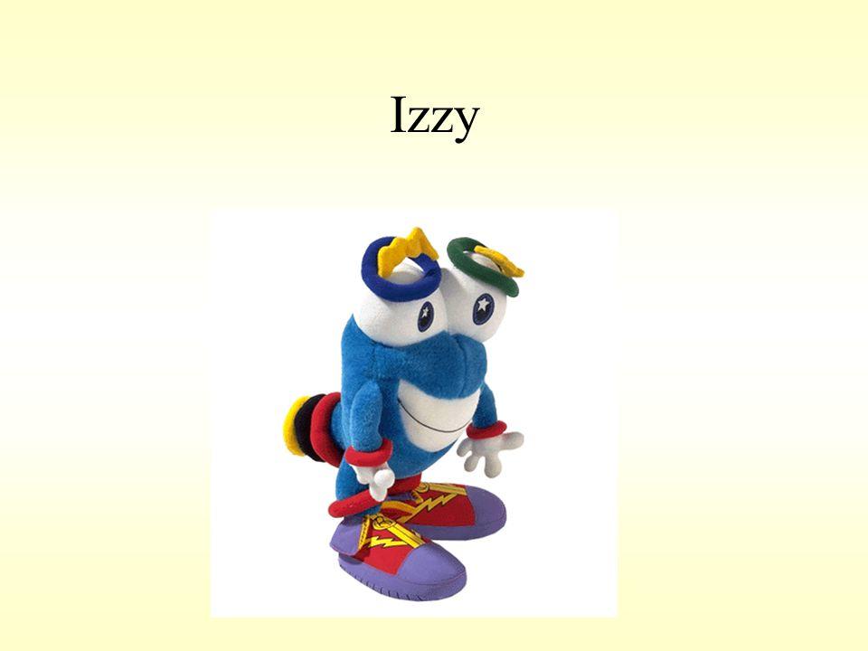 Izzy 1996. Atlanta – Izzy.
