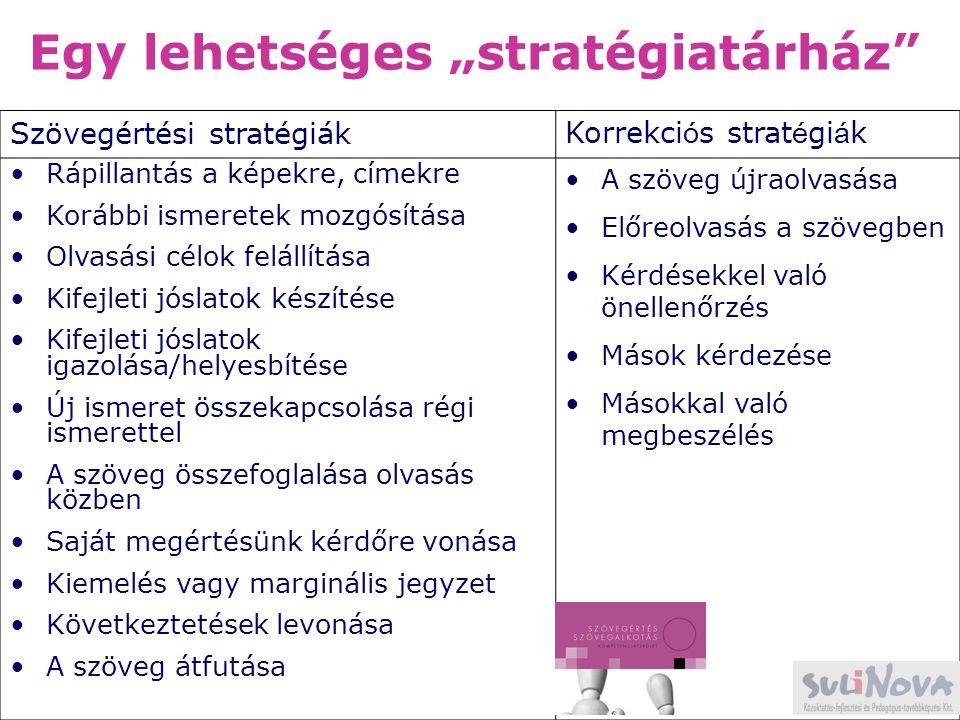 """Egy lehetséges """"stratégiatárház"""