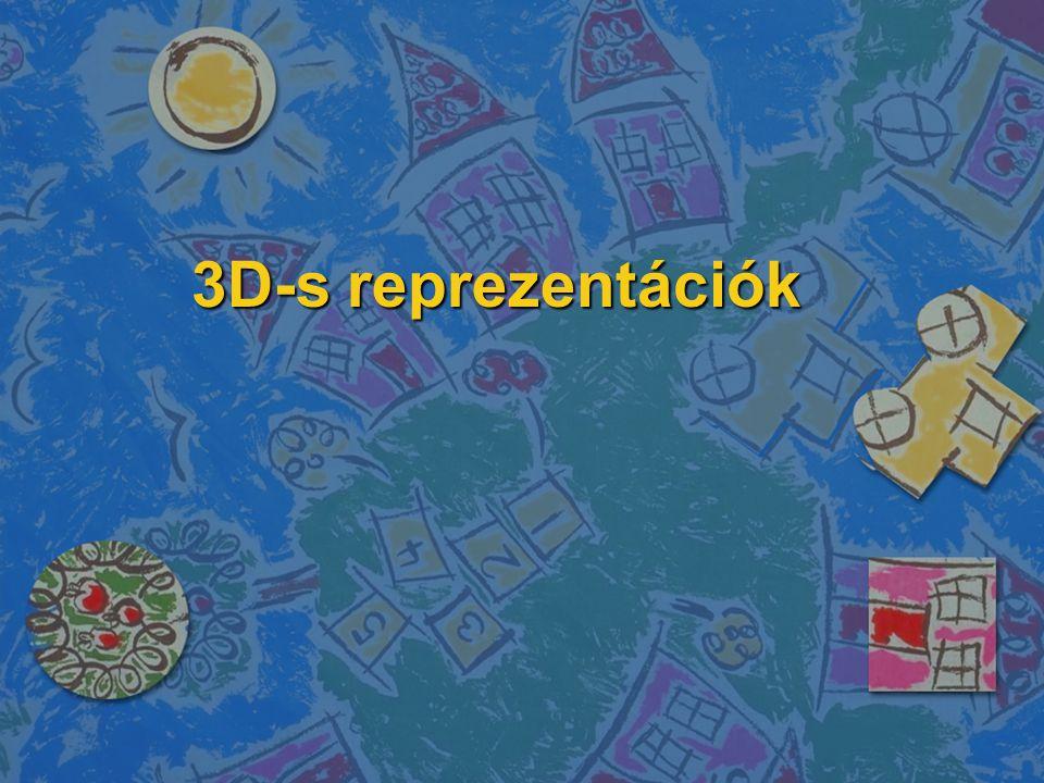 3D-s reprezentációk