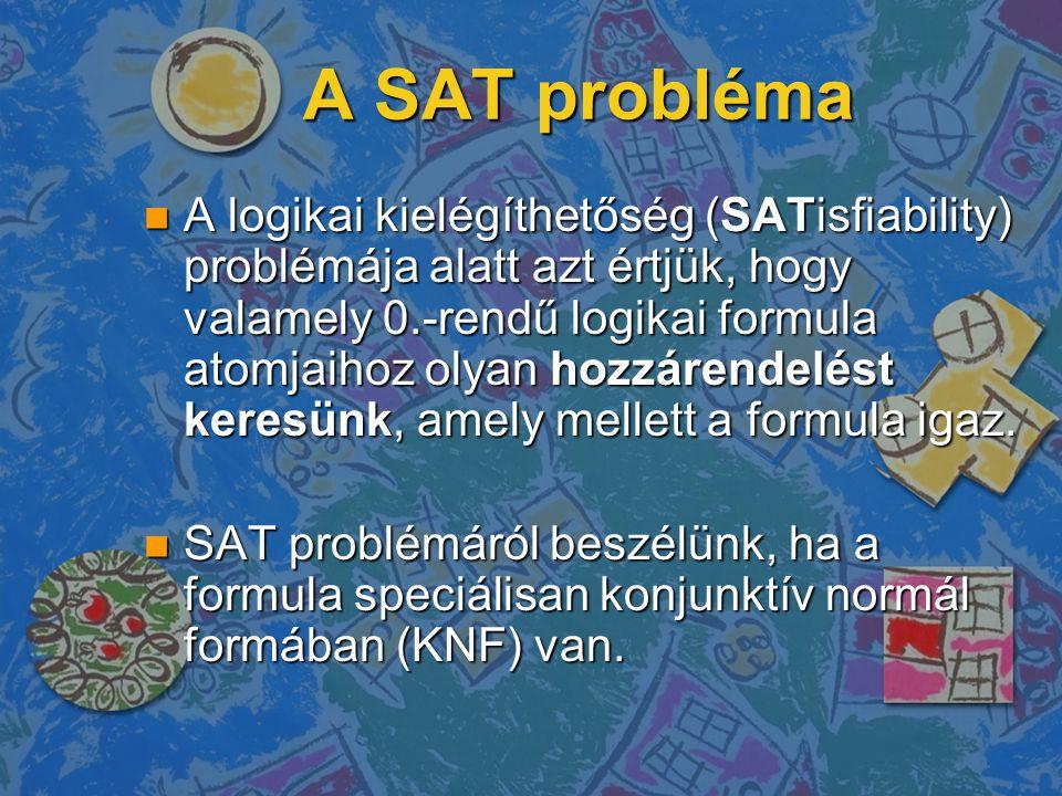 A SAT probléma