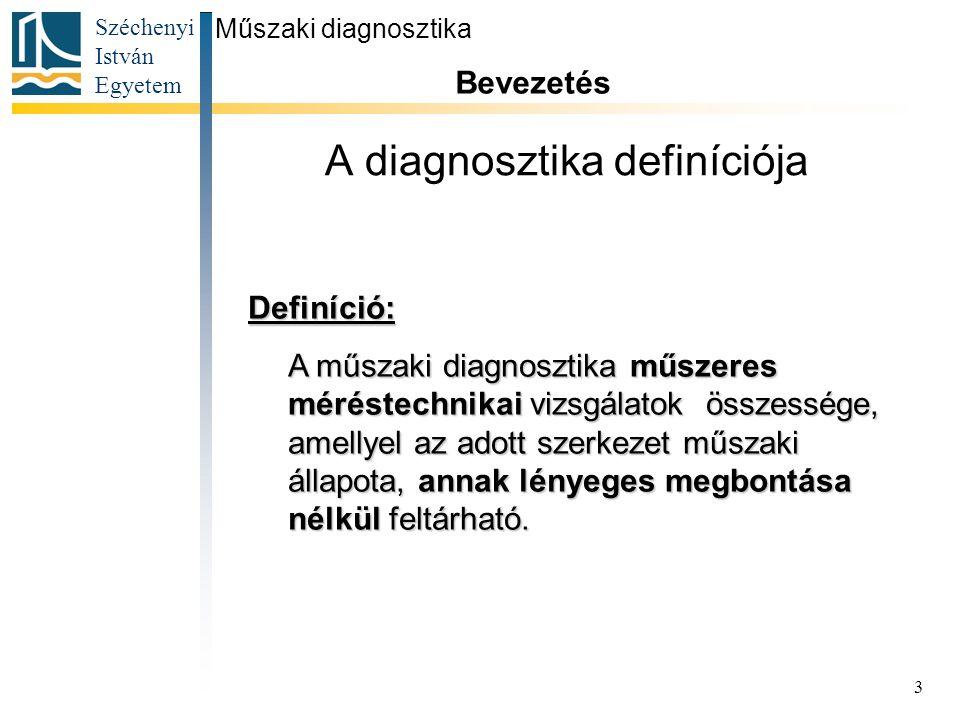 A diagnosztika definíciója