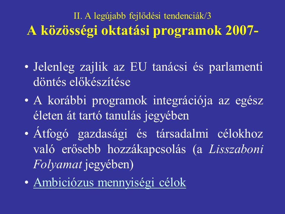 Jelenleg zajlik az EU tanácsi és parlamenti döntés előkészítése