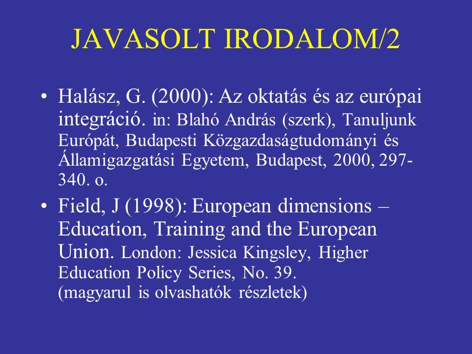 JAVASOLT IRODALOM/2