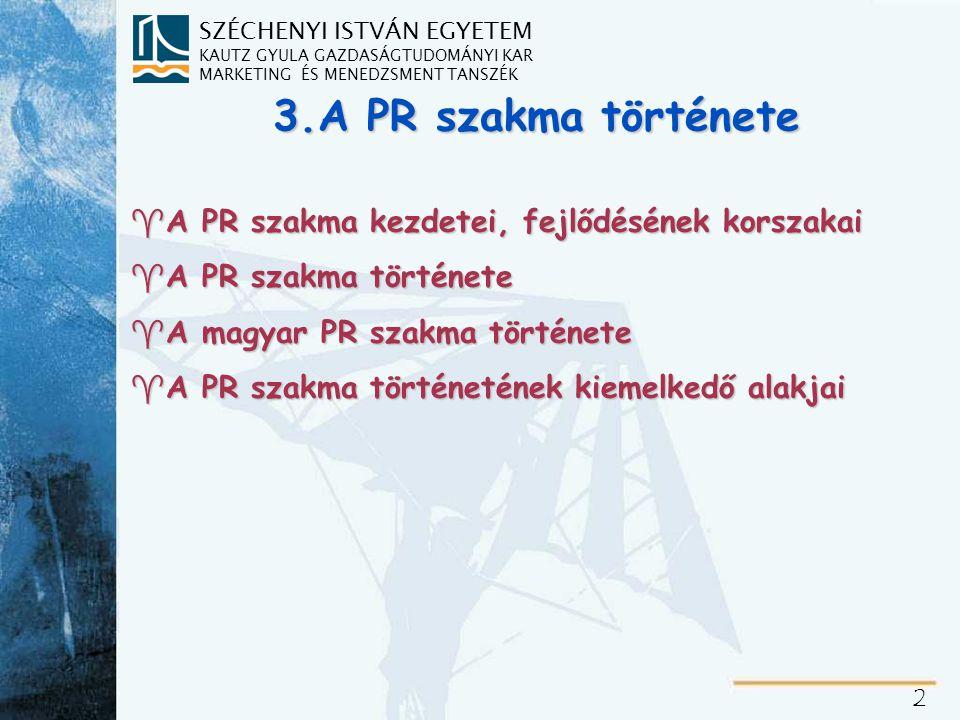 A PR szakma előtörténete/1.