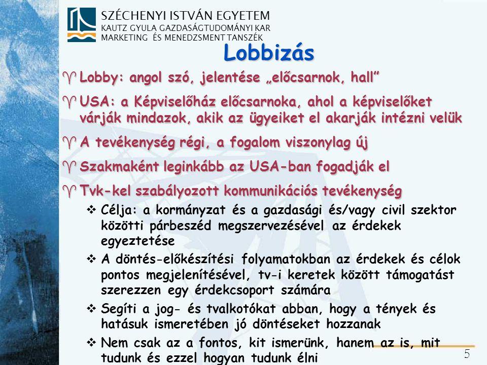 Lobbizás