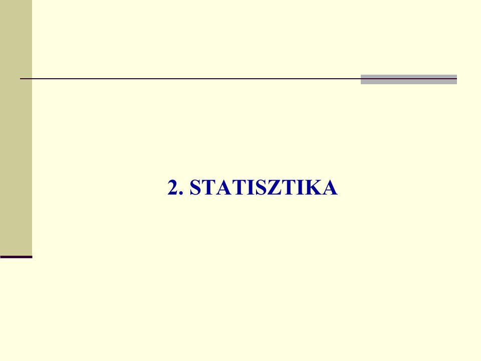 2. STATISZTIKA