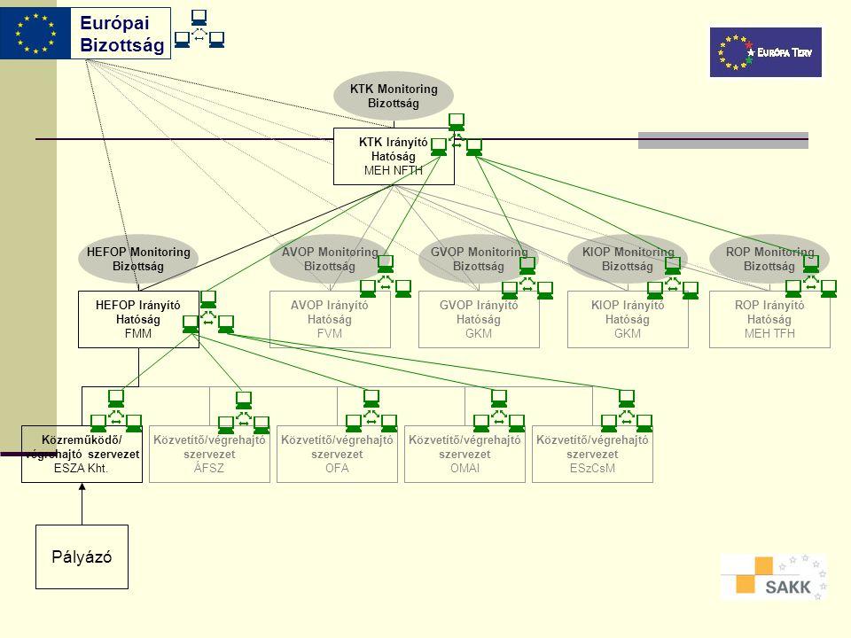 Európai Bizottság Pályázó KTK Monitoring Bizottság KTK Irányító