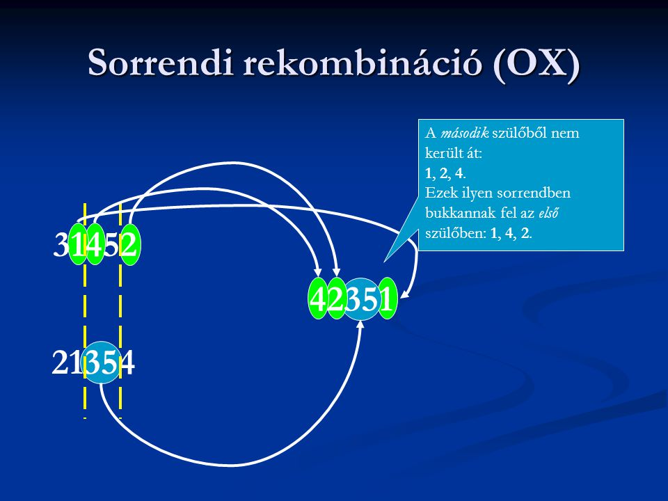 Sorrendi rekombináció (OX)