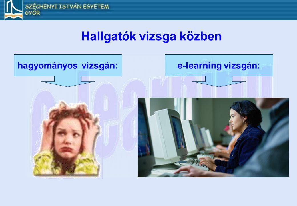 Hallgatók vizsga közben