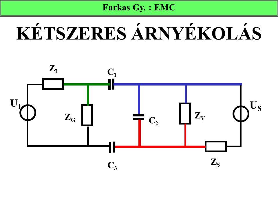 Farkas Gy. : EMC KÉTSZERES ÁRNYÉKOLÁS ZI C1 UI US ZG ZV C2 ZS C3