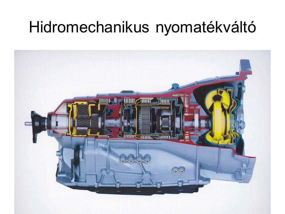 Hidromechanikus nyomatékváltó