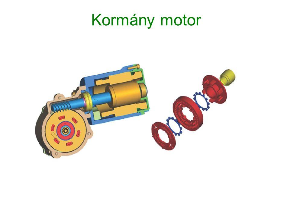Kormány motor
