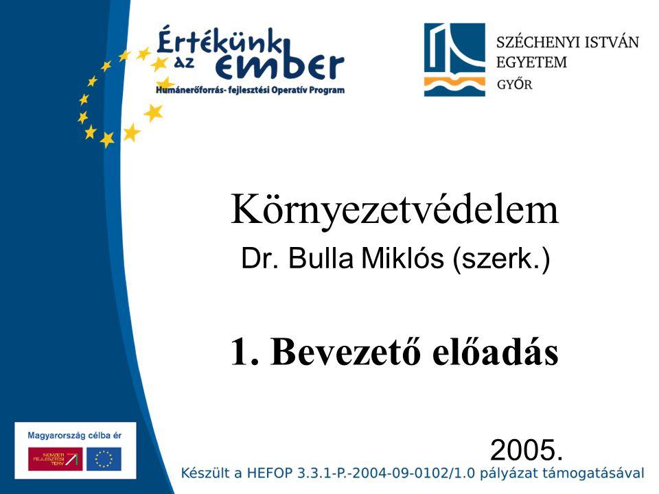 Dr. Bulla Miklós (szerk.)
