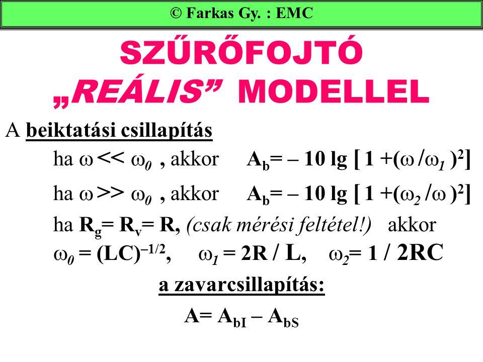 """SZŰRŐFOJTÓ """"REÁLIS MODELLEL"""