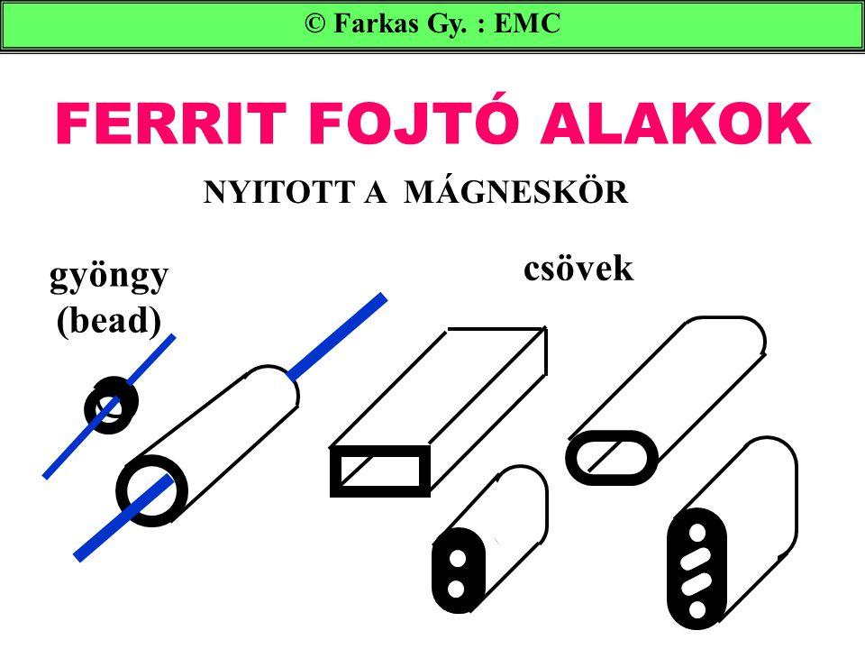 FERRIT FOJTÓ ALAKOK csövek gyöngy (bead) NYITOTT A MÁGNESKÖR