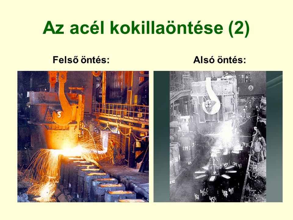 Az acél kokillaöntése (2)