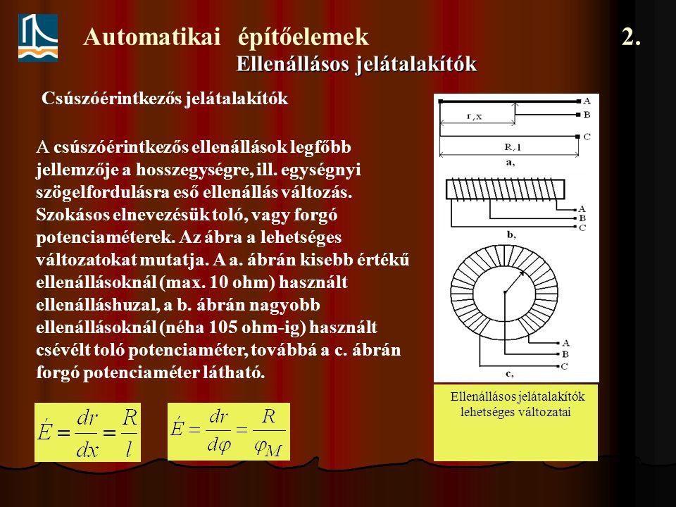 Automatikai építőelemek 2.