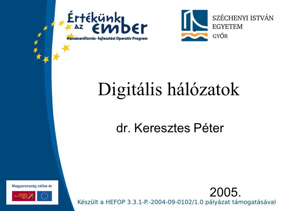 Digitális hálózatok dr. Keresztes Péter 2005.