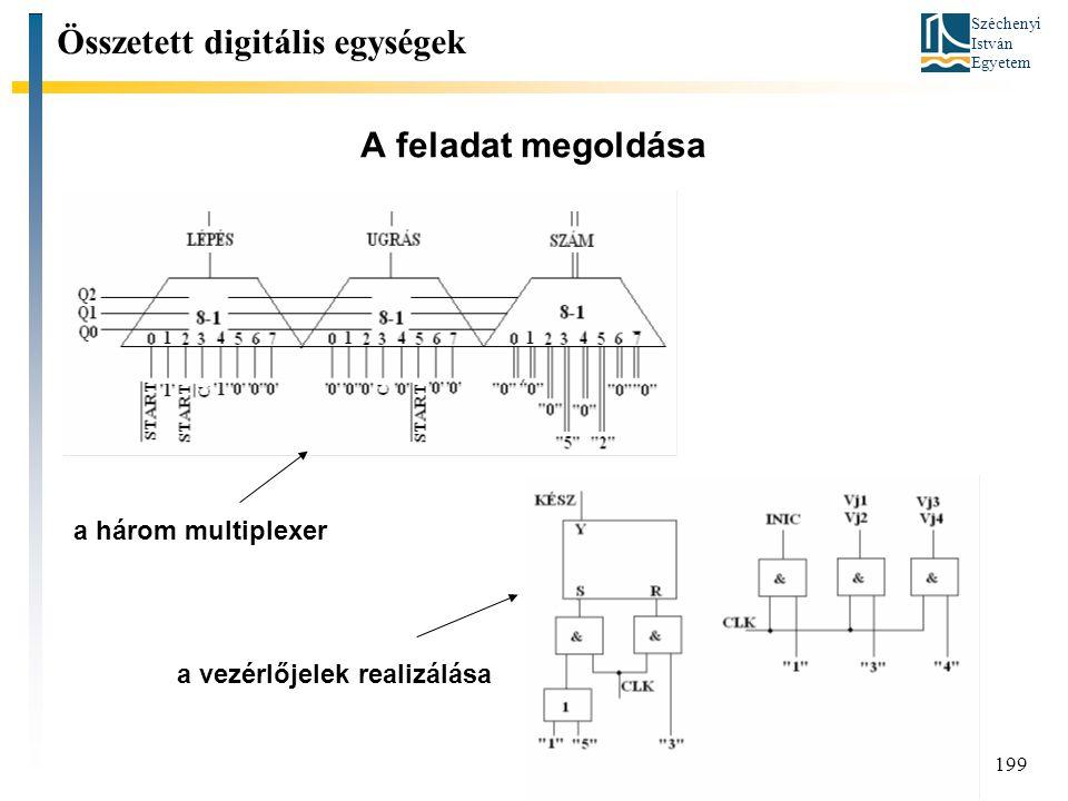 Összetett digitális egységek