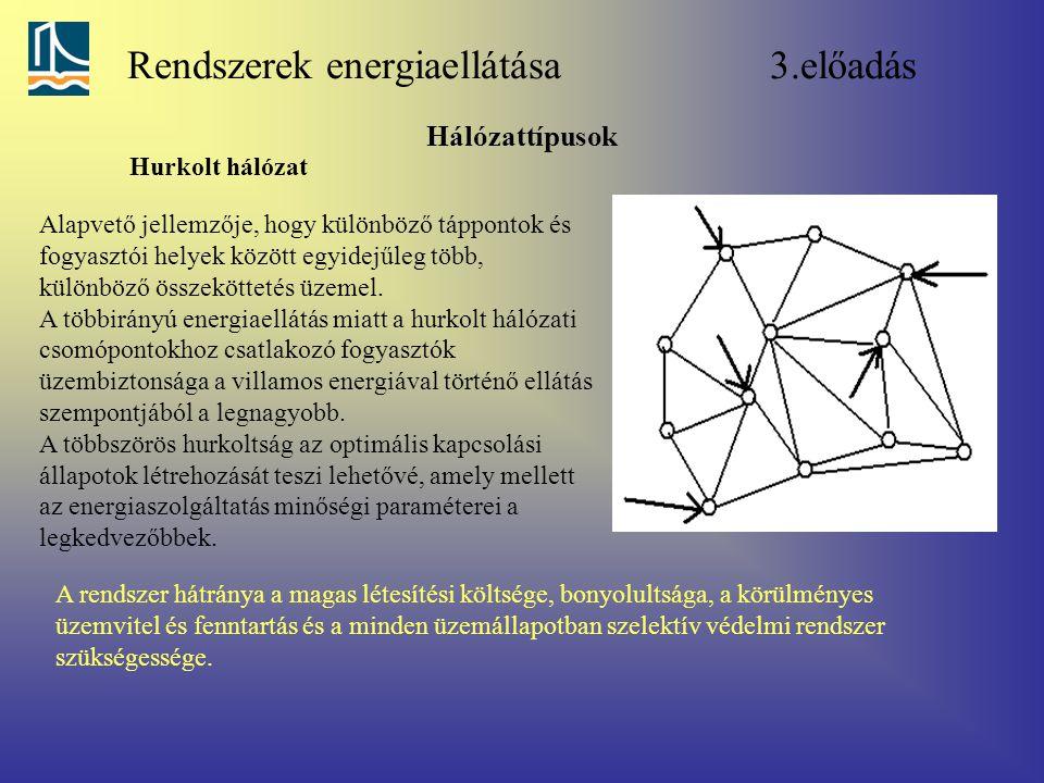 Rendszerek energiaellátása 3.előadás