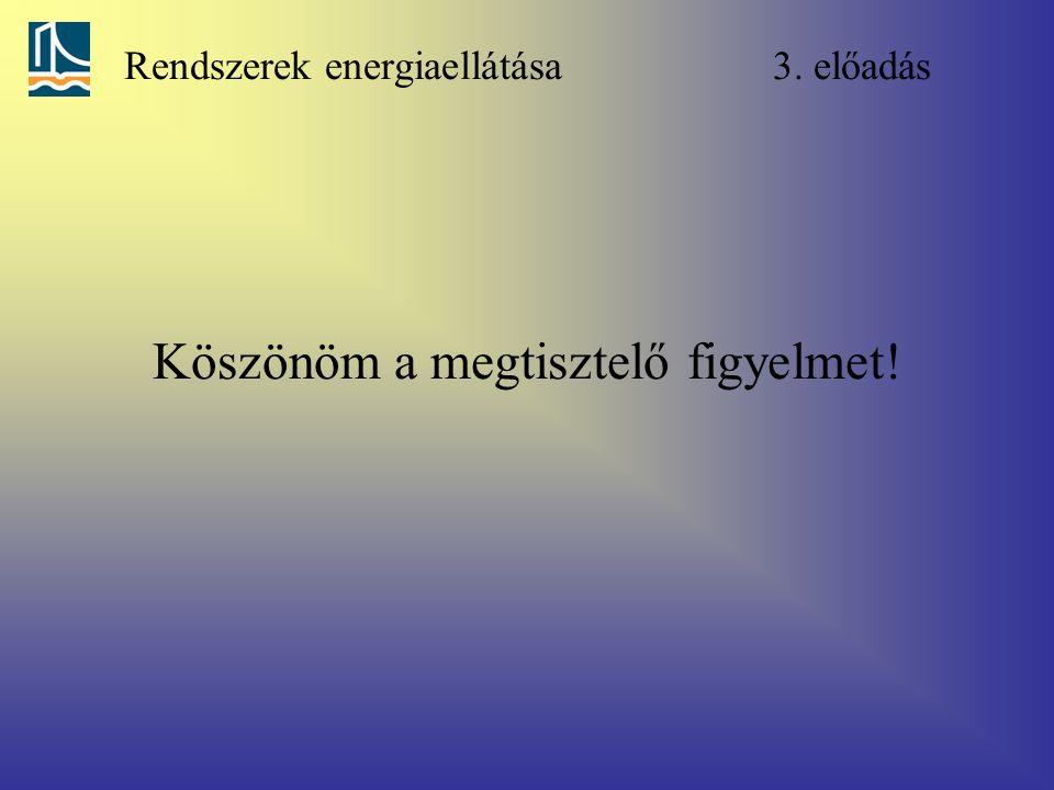 Rendszerek energiaellátása 3. előadás