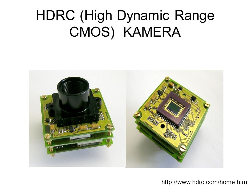 HDRC (High Dynamic Range CMOS) KAMERA