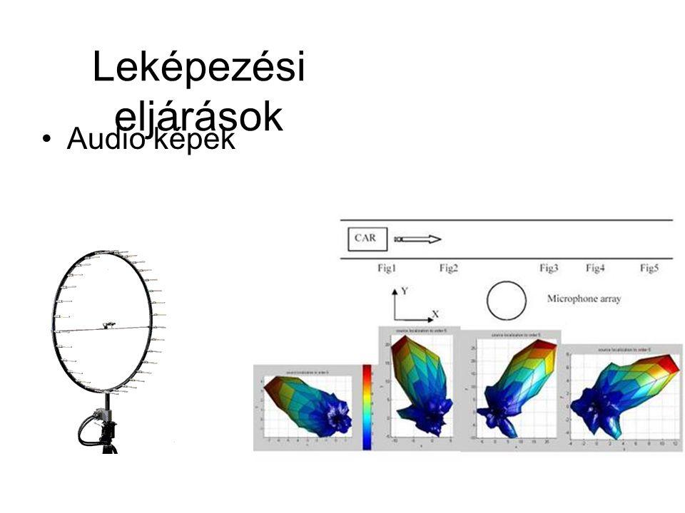 Leképezési eljárások Audio képek