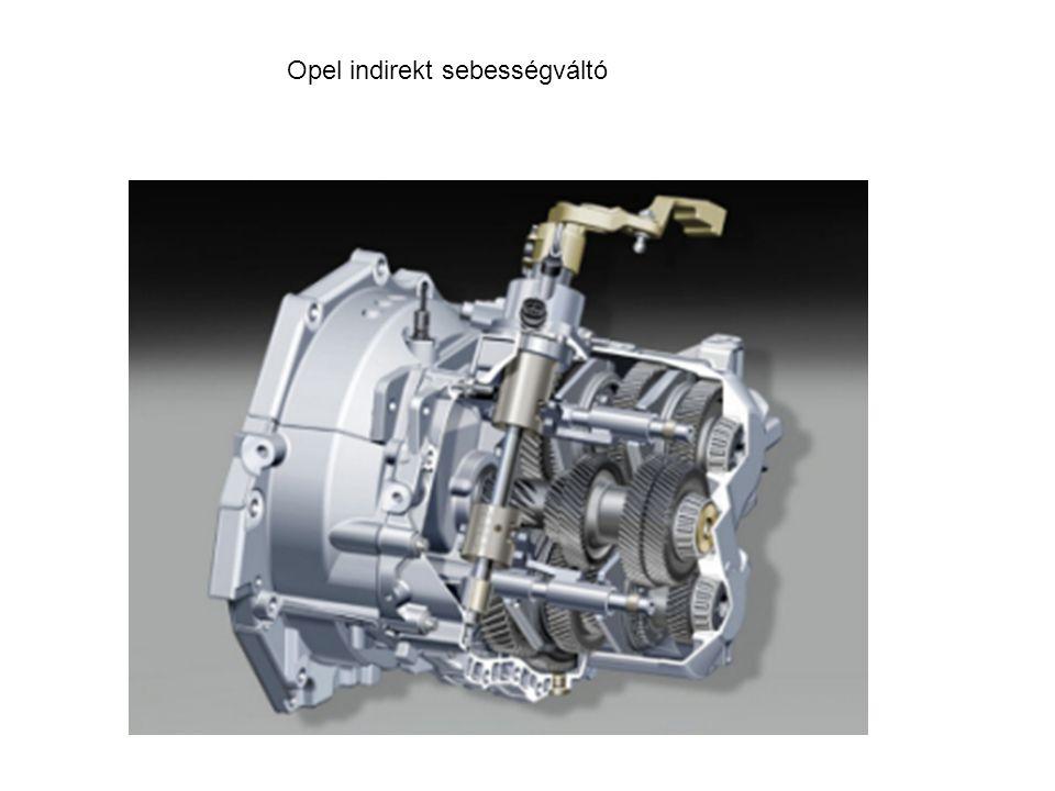 Opel indirekt sebességváltó