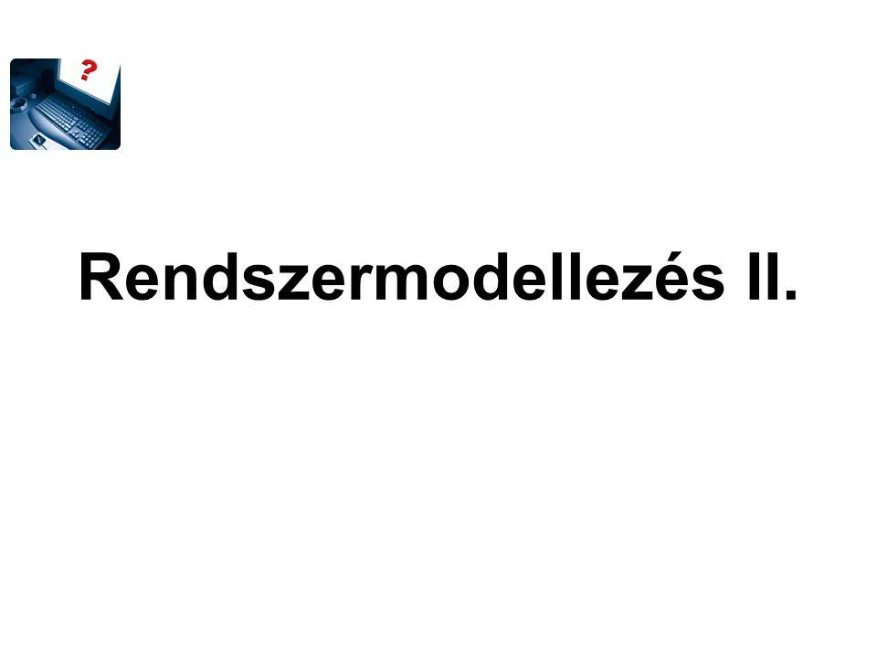 Rendszermodellezés II.