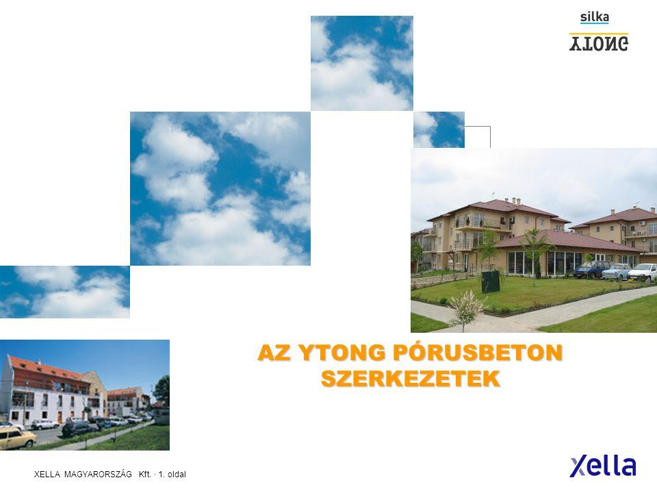 AZ YTONG PÓRUSBETON SZERKEZETEK