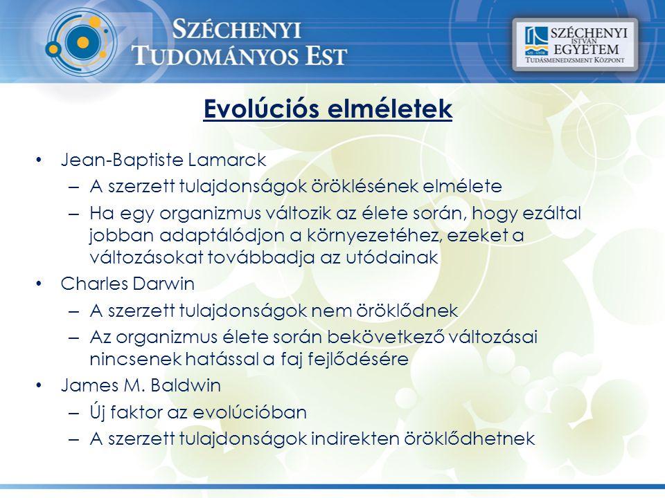 Evolúciós elméletek Jean-Baptiste Lamarck